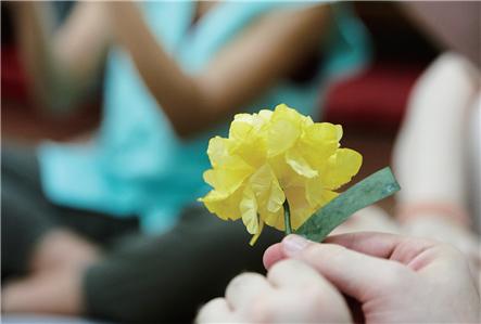 紙花づくり