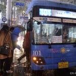 ソウル市、年末に限り市内バス終発時間を延長