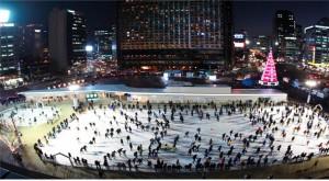 2017年ソウル広場スケートリンクオープン