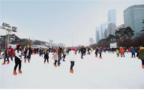 2017年ソウル市内スケートリンク・雪そりゲレンデ人気スポット