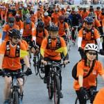 4月8日、チョンノ(鍾路)1~5街に2.6kmの自転車専用道路を開通