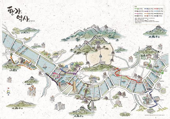 物語をたどるハンガン(漢江)歴史ツアープログラム