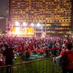 ロシアワールドカップを迎え、ソウル広場にて外国人の街頭応援戦を開催