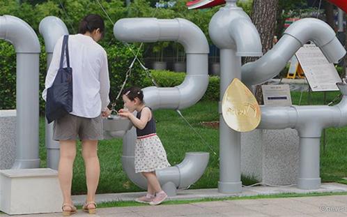 厳しく管理されているソウルの水道水「アリス」