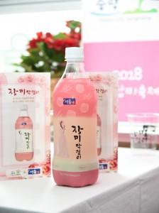 ソウル市の都市再生事業で誕生した韓国初の特産物「薔薇マッコリ」