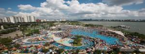 ソウル市、ハンガン(漢江)公園の野外プールを開場