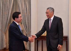 パク・ウォンスン(朴元淳)市長、「リー・クアンユー世界都市賞」受賞のためシンガポールを訪問