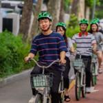 ソウル市、公共自転車「タルンイ」ヘルメット配備 汝矣島(ヨイド)にてモデル運営