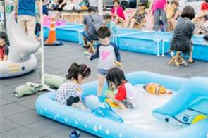 水遊び、露天読書、映画祭まで! ソウルロ7017で残暑を忘れよう!