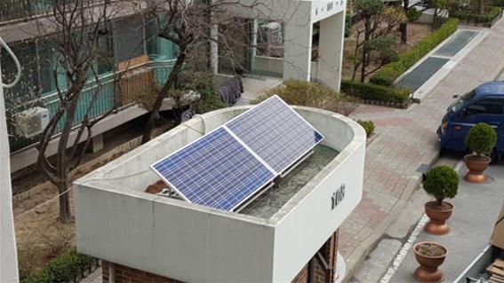ソウル市、小規模共同住宅の警備室にミニ太陽光発電を無償提供