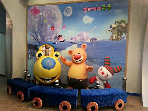 KBS見学ホール「KBS ON」キャラクタードール
