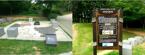 ソウルの中のフランス モンマルト公園とソレ村