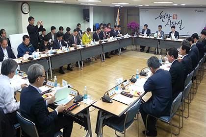 地域の問題を解決するため、ソウル全域を巡回