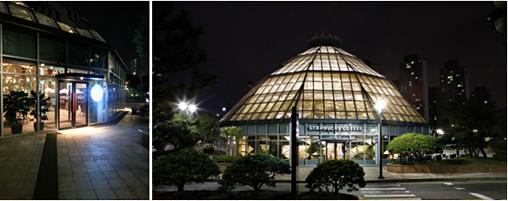 韓国最大の'星喫茶店'? スターバックス・ファミエパーク店
