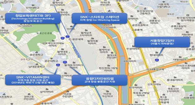 「光云大学キャンパスタウン」ソウル東北圏創業ハブの構築状況
