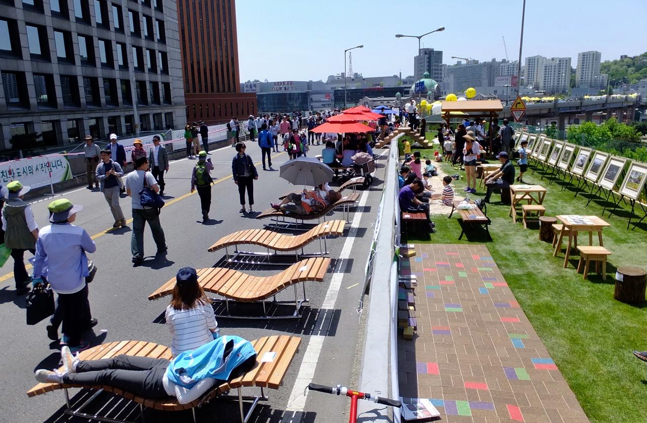 ソウル駅高架~ソウル駅周辺の「統合再生」による地域経済の復興