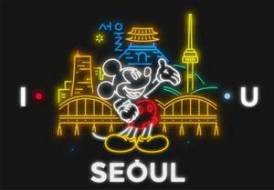 I・SEOUL・Uとコラボするミッキーマウス、ソウルを初訪問