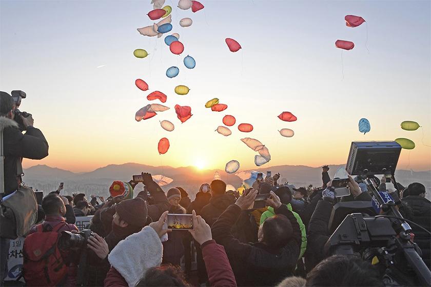 ソウル市内の初日の出スポット、山&公園18か所