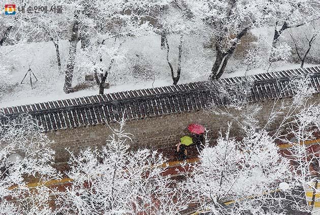 トクスグン(徳寿宮)石垣道、全区間開放
