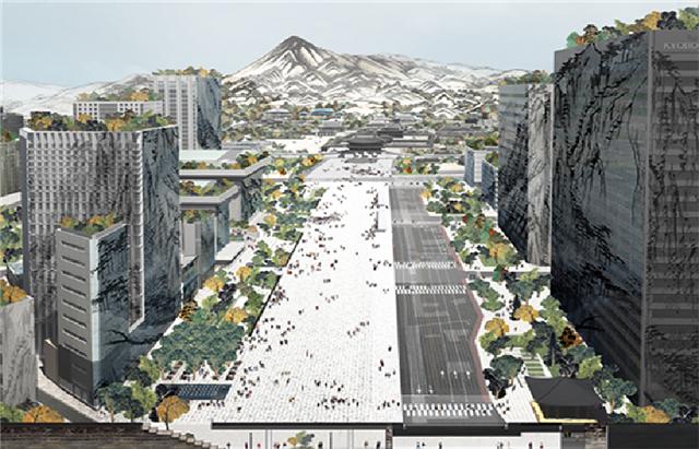 ソウル市、新しいクァンファムン(光化門)を2021年に市民へ公開予定…国際設計公募の当選作も発表