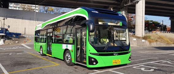 15日からソウルを走る電気バス、年内に3路線の29台に拡大