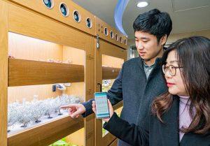 ソウルのソゴン(小公)地下商店街、IoT技術でスマート化…5種類の技術を披露