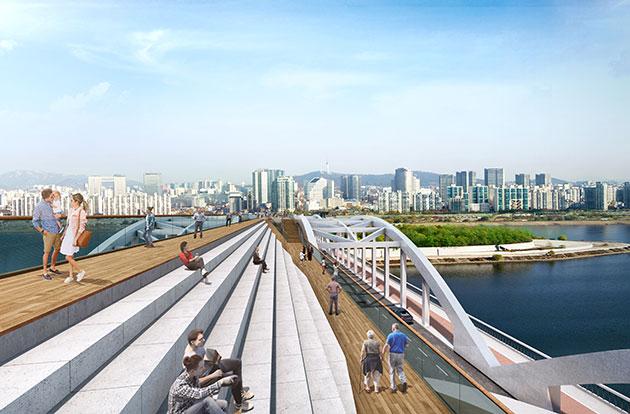 ハンガン(漢江)大橋の歩行橋が100年ぶりに復活、2021年開通予定
