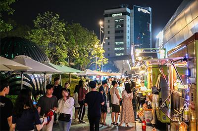 週末のおすすめ「ソウルパムトッケビナイトマーケット」、チョンゲチョン(清渓川)やヨイド(汝矣島)などで10月まで開催