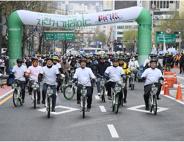第1回ソウル自転車パレード参加者募集