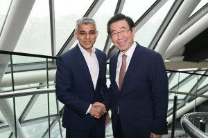 ソウル市長-ロンドン市長、公害車運行規制協力を推進