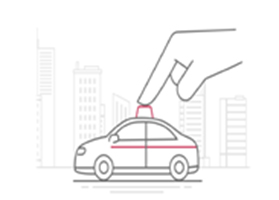 市民が空車タクシーを選んで乗る「S-Taxiアプリ」、試験的にオープン