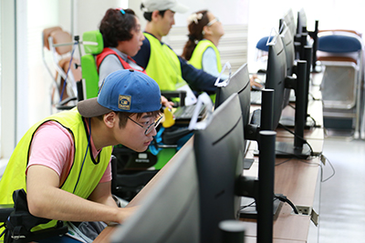 ソウル市、障害者ITチャレンジ開催