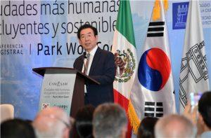 ソウル市長、メキシコシティに「ソウル型都市再生」伝授