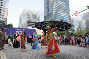 ソウル市、ソウル広場で世界都市文化フェスティバル開幕