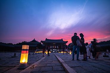 チャンギョングン(昌慶宮)の夜間開場