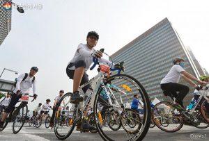 ソウル市、1万人によるグローバル自転車パレード「ライディングソウル2019」参加者募集