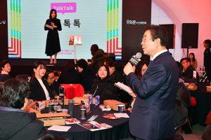 ソウル市長、新しいクァンファムン(光化門)広場の文化的利用について「広場文化フォーラム」で討論