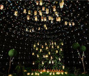 パブリックアートプロジェクト「ソウォンバンディ」、トクスグン(徳寿宮)石垣道を照らす