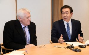 ソウル市長、ティム・ダンロップと「労働」に関する対談を実施