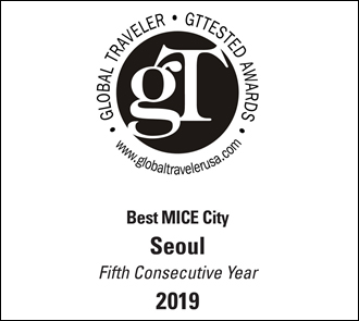 Global Traveler Gttested Awards Best MICE City Seoul Fifth Consecutive Year 2019