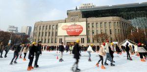 ソウル市所在、冬のおすすめ雪そりゲレンデ・スケート場