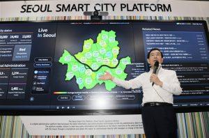 パク・ウォンスン(朴元淳)市長、CESで基調講演及びデジタル市民市長室について紹介