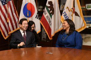 パク・ウォンスン(朴元淳)市長、1月9日に米サンフランシスコ市長と会談