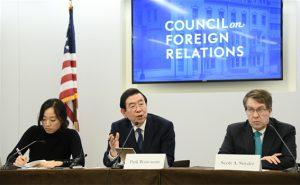 パク・ウォンスン(朴元淳)市長、アメリカのシンクタンクから招待を受けて韓半島の平和について演説