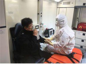 消防災難本部、新型コロナウイルス疑い患者の移送支援チームを拡大運営