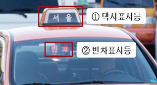 ソウル市、タクシー表示灯を活用した緊急災難・気候情報のリアルタイム提供に乗り出す
