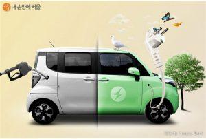 ソウル市、2020年電気自動車1万台の普及を目標に補助金の受付を開始