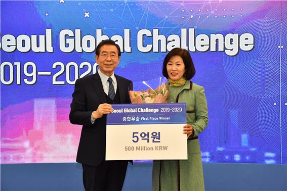『ソウルグローバルチャレンジ』、「Corning-SNS」が空気清浄システムで総合優勝に輝く