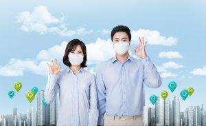 マスクの使用指針 - 非常事態下における一時的な指針 -