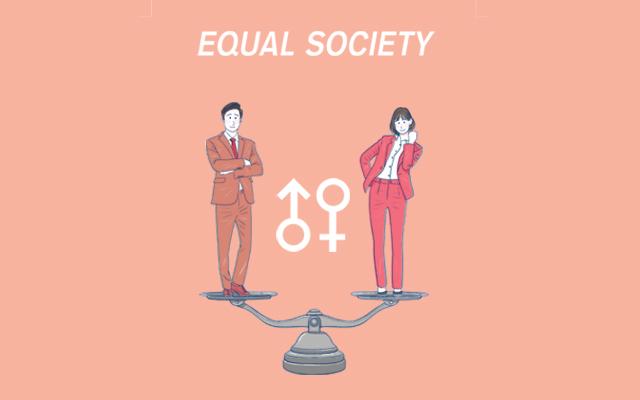 「男女平等賃金実践ガイドライン」を制作して民間の参加を促す